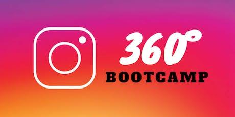 Instagram 360° BootCamp / Septiembre 2019 tickets
