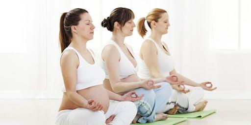 Prenatal Yoga - Grounding through Pelvic Floor Work