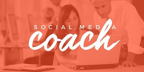 Curso Profesional Social Media Coach (Agosto) tickets