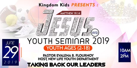 Jesus and the Youth 2019 tickets