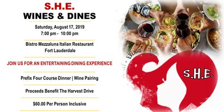 S.H.E Wines and Dines tickets