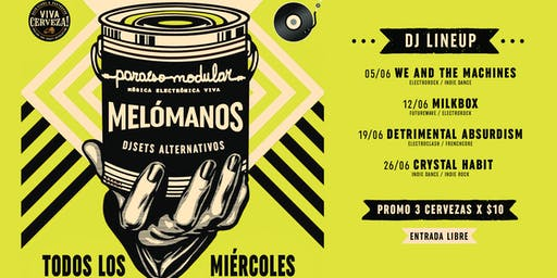 Melómanos ★ djsets alternativos