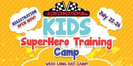 Superhero Training Camp tickets