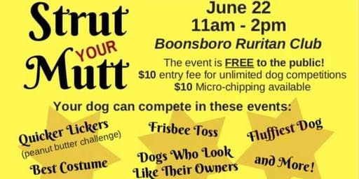 2nd Annual Strut Your Mutt and Family Fun Event