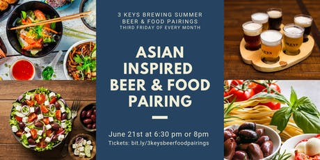 Asian-Inspired Beer & Food Pairings tickets