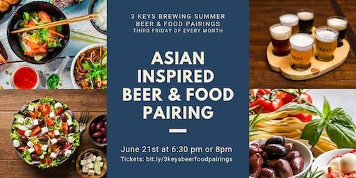 Asian-Inspired Beer & Food Pairings