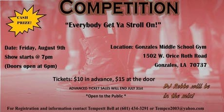 2019 Stroll Off Competition tickets