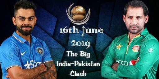 India Vs Pakistan World Cup Cricket Match 16 June 2019