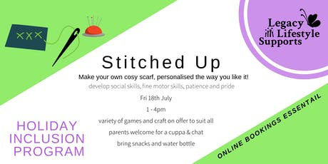 Stitched up! tickets