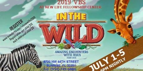In The Wild tickets