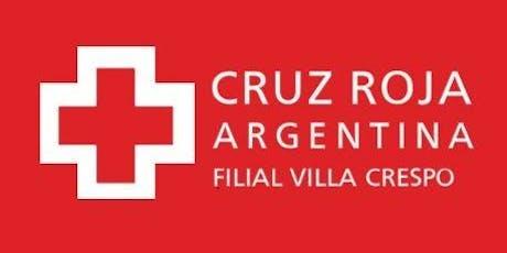 Curso de RCP en Cruz Roja (27-07-19) - Duración 4 hs. entradas