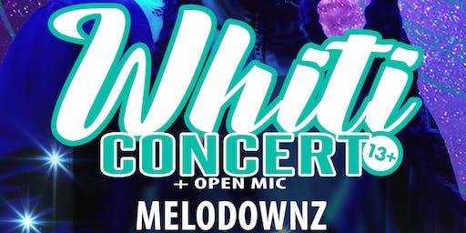 WHITI: Concert + Open Mic