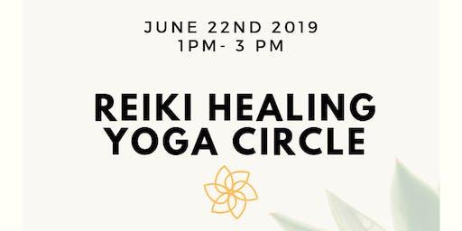 Reiki healing Yoga circle
