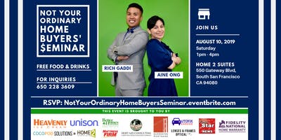Not Your Ordinary Home Buyers' Seminar