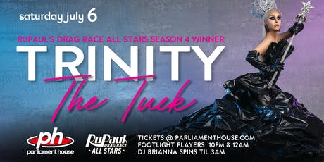 TRINITY THE TUCK at the Parliament House! tickets