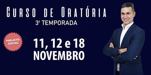 3ª Temporada do Curso de Oratória