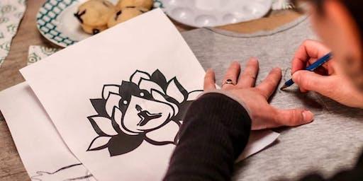 Atelier DIY: Peinture sur objet textile