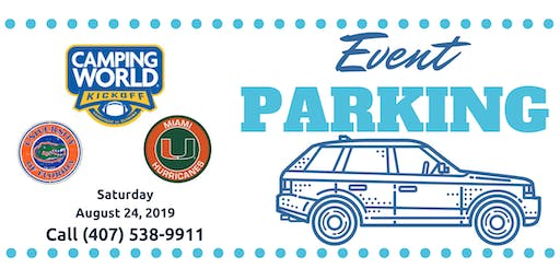 Event Parking Orlando: Camping World Bowl 2019