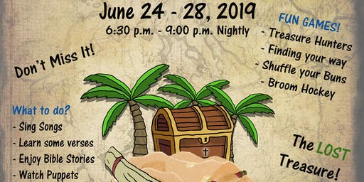 Vacation Bible School - The Lost Treasure