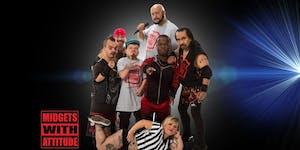 The Midget Wrestling Show @ STEREO GARDEN Music by DJ...