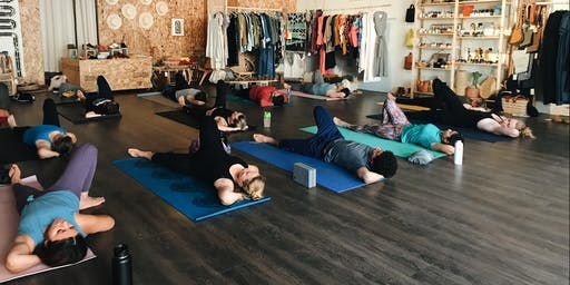 Yoga with Outdoor Voices x Ventura Joggers Club