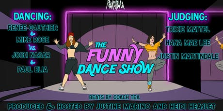 The Funny Dance Show at Packchella! tickets