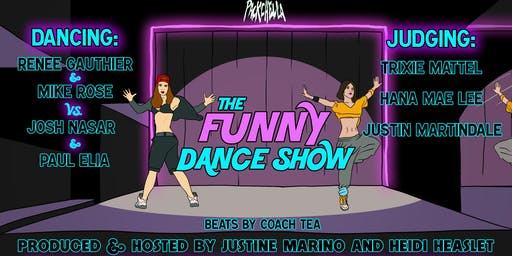 The Funny Dance Show at Packchella!