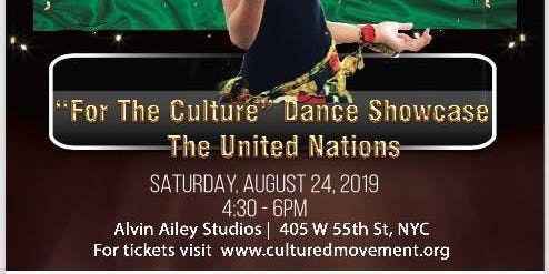 """Cultured Movement's 10th Year """"For the Culture"""" Dance Showcase"""