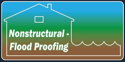 Nonstructural Flood Proofing Measures Workshop - Voorheesville, NY