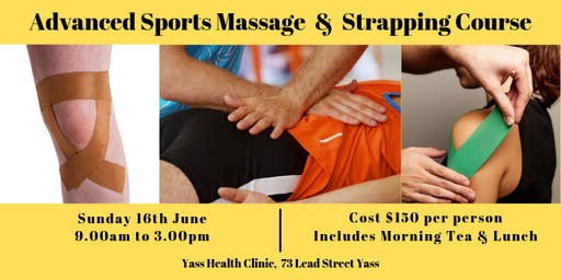 Advanced Sports Massage & Strapping Course