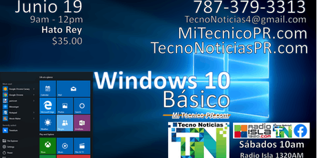 Windows 10 Básico con TecnoNoticias entradas