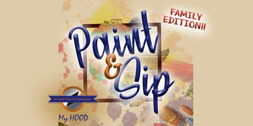 Paint and Sip Family Edition