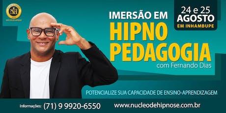 Hipnopedagogia em Inhambupe-BA ingressos