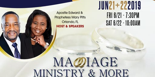 Marriage, Ministry and More...