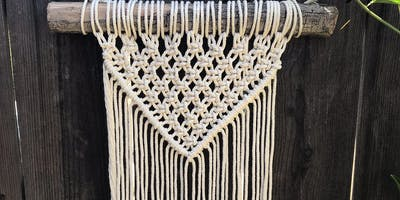 Crafts and Drafts Macrame workshop