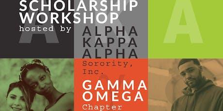 Scholarship Workshop tickets
