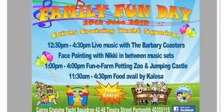 Family Fun Day at The Squadron tickets