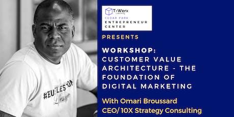 Workshop: Customer Value Architecture - The Foundation of Digital Marketing tickets