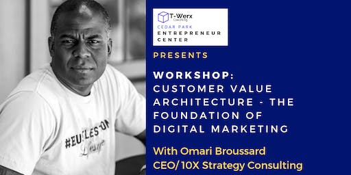 Workshop: Customer Value Architecture - The Foundation of Digital Marketing