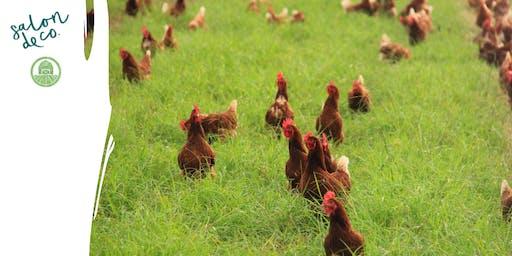 GOOD FOOD MONTH | Salon De Co x 9Dorf Farms Sustainable Dinner
