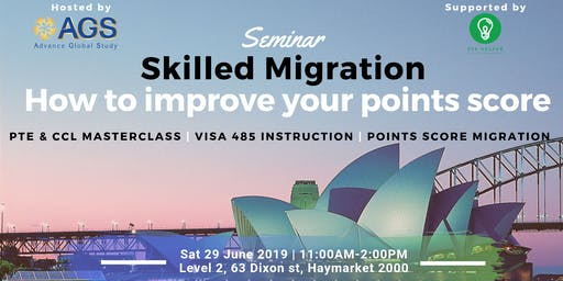 Skilled Migration and How to improve points score