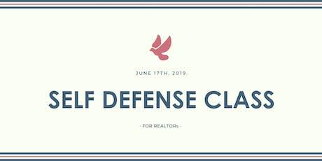 Self Defense Class for REALTORs (FREE) tickets