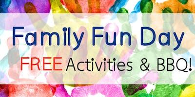 Family Fun Day Activities & BBQ