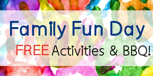 Family Fun Day Activities & BBQ