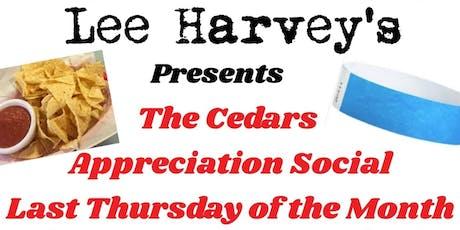 The Cedars Appreciation Social tickets