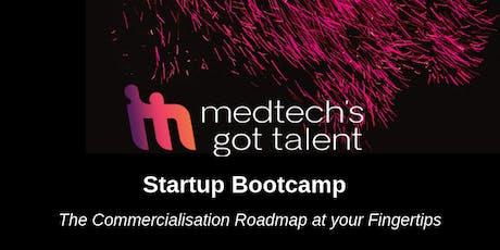 MedTech's Got Talent Startup Bootcamp 2019 - Sydney tickets