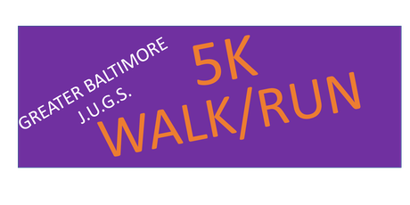 J.U.G.S., Int'l. Inc. 5K Walk/Run tickets