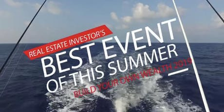 Build Your Own Wealth RE Investing Seminar + Networking Yacht Party tickets