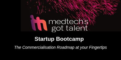 MedTech's Got Talent Startup Bootcamp 2019 - Melbourne tickets