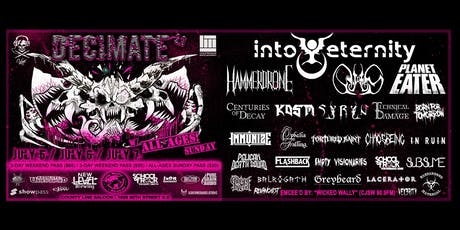 Decimate Metalfest 2.0! tickets
